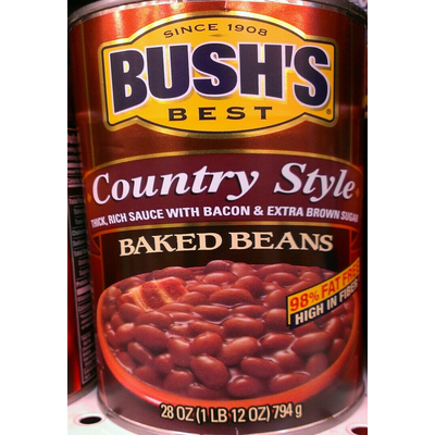 Calories In Baked Beans Country Style From Bush S Best