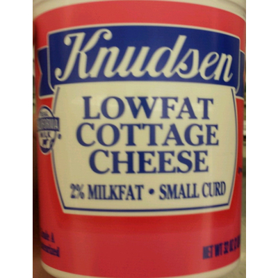 Calories in 1% Milkfat Small Curd Cottage Cheese from ...