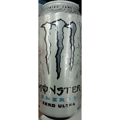 Calories In Energy Drink Zero Ultra From Monster