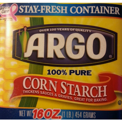 Calories In Corn Starch From Argo