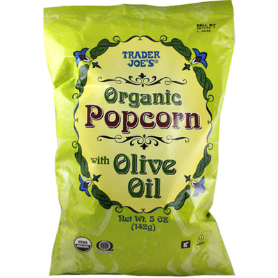 Calories In Organic Popcorn With Olive Oil From Trader Joe S