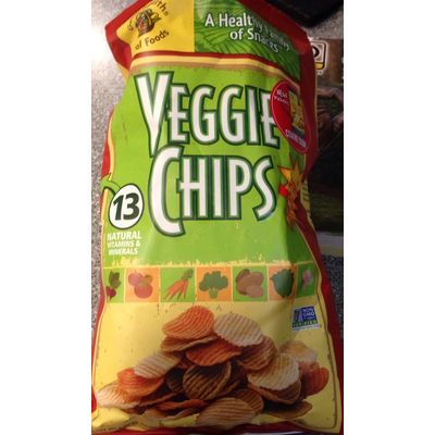 Calories In Toasted Chips Veggie From Wheat Thins