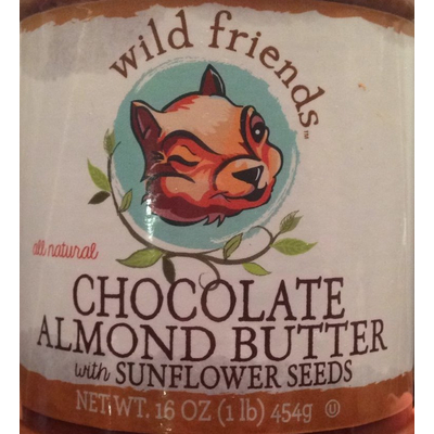 Chocolate Almond Butter With Crunchy Almond Pieces image