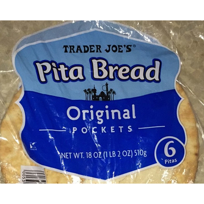 Calories In Pita Bread From Trader Joe S