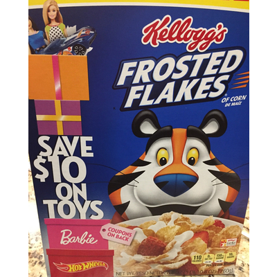 Calories In Frosted Flakes Cereal From Kellogg S
