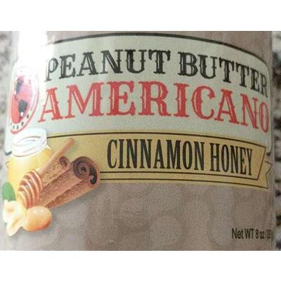 100% Natural Cinnamon Honey Peanut Butter image