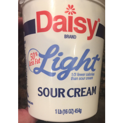 Calories In Light Sour Cream From Daisy