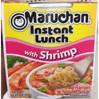 Calories In Ramen Noodle Soup With Shrimp From Maruchan