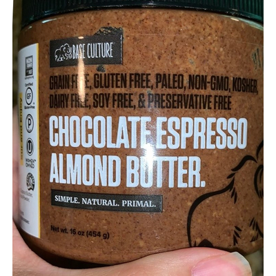 Chocolate Espresso Almond Butter. image