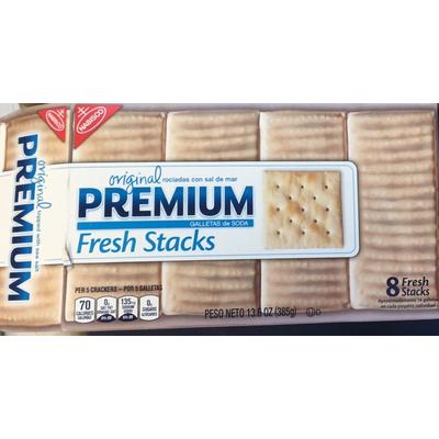 Calories In Premium Saltine Crackers From Nabisco