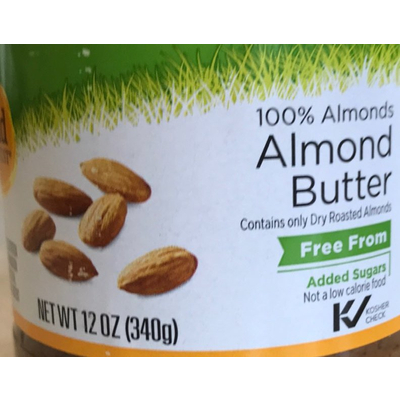 100% Almonds Butter image