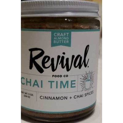 Cinnamon + Chai Spices Chat Time Almond Butter image